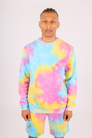 Part Of A Co-ord Set 'Candy Tie Dye Sweater'