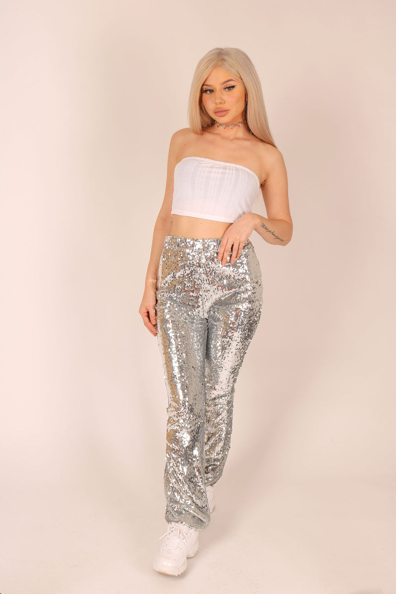 More Is Definitely More 'Flares In Sequin'