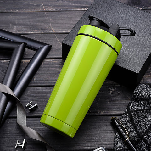 COLD HOTTY™ Stainless Steel Odor-Resistant Insulated Vacuum Bottle & Shake In One