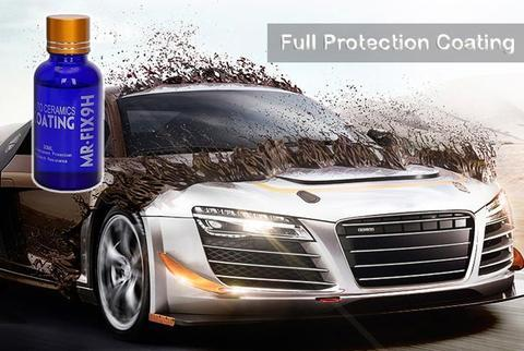 Nano Ceramic Car Coating Kit with UV & Scratch Resistance