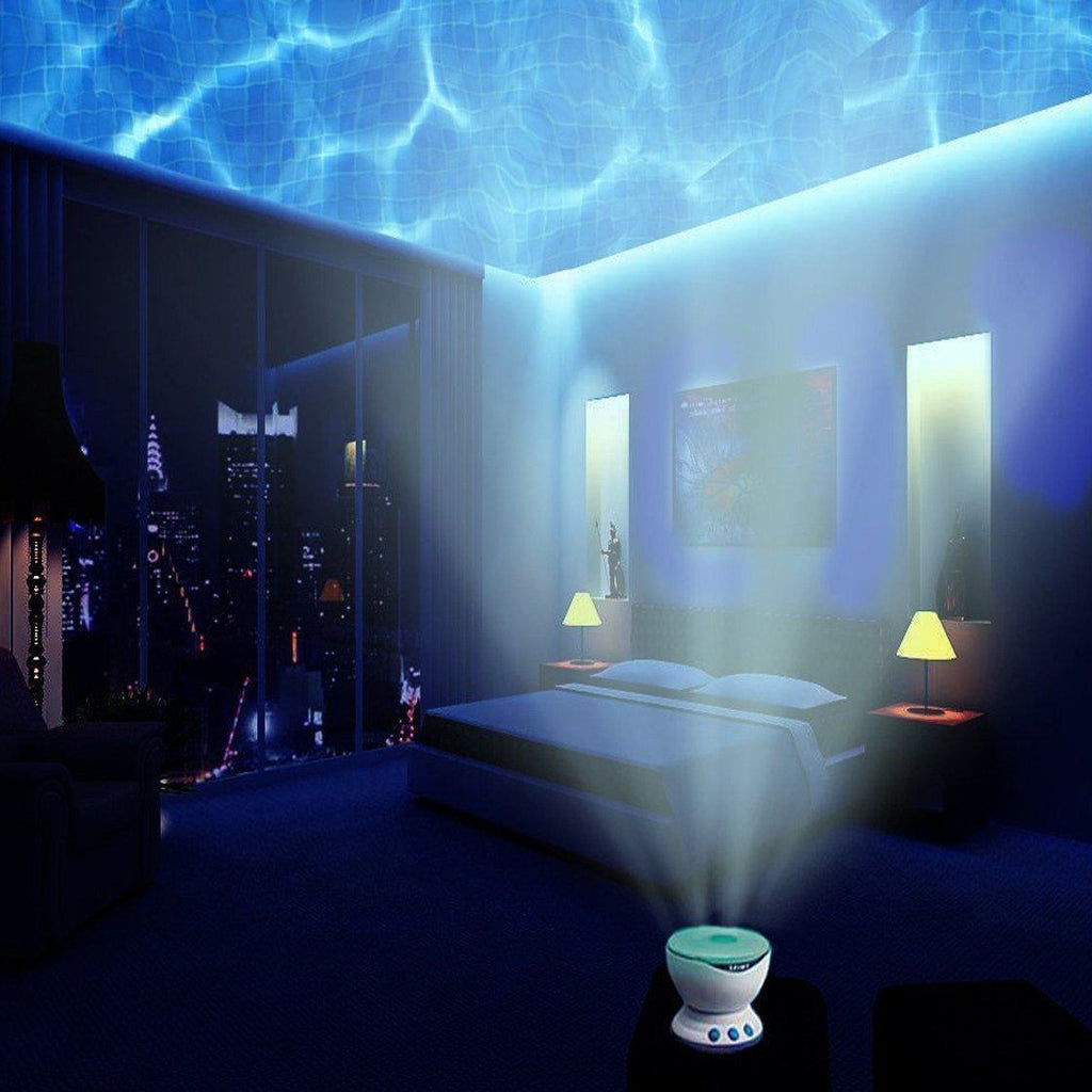Aurora Master Ocean Wave Night Light Projector With Built