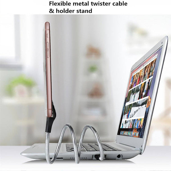 Flexible Stand-Up Charging Cable - HIPSTERR