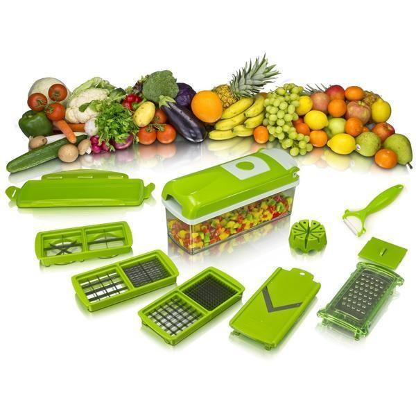 SlicerPlus™ All-In-One Multi-Blades For Vegetable & Fruit