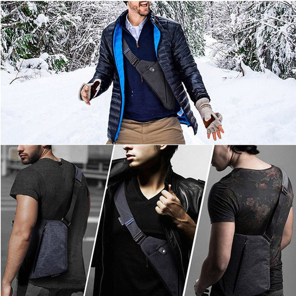 Ultra-Slim Premium Anti-Thief Personal Digital Shoulder Travel Pack - HIPSTERR