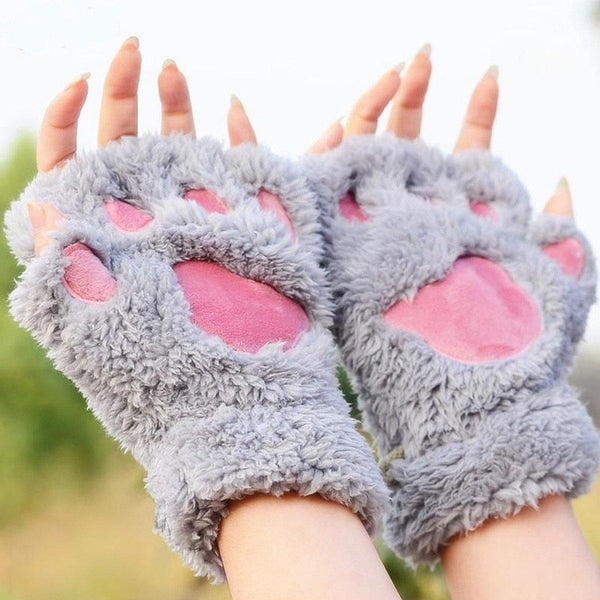 Flurry Cat Paw Gloves - HIPSTERR