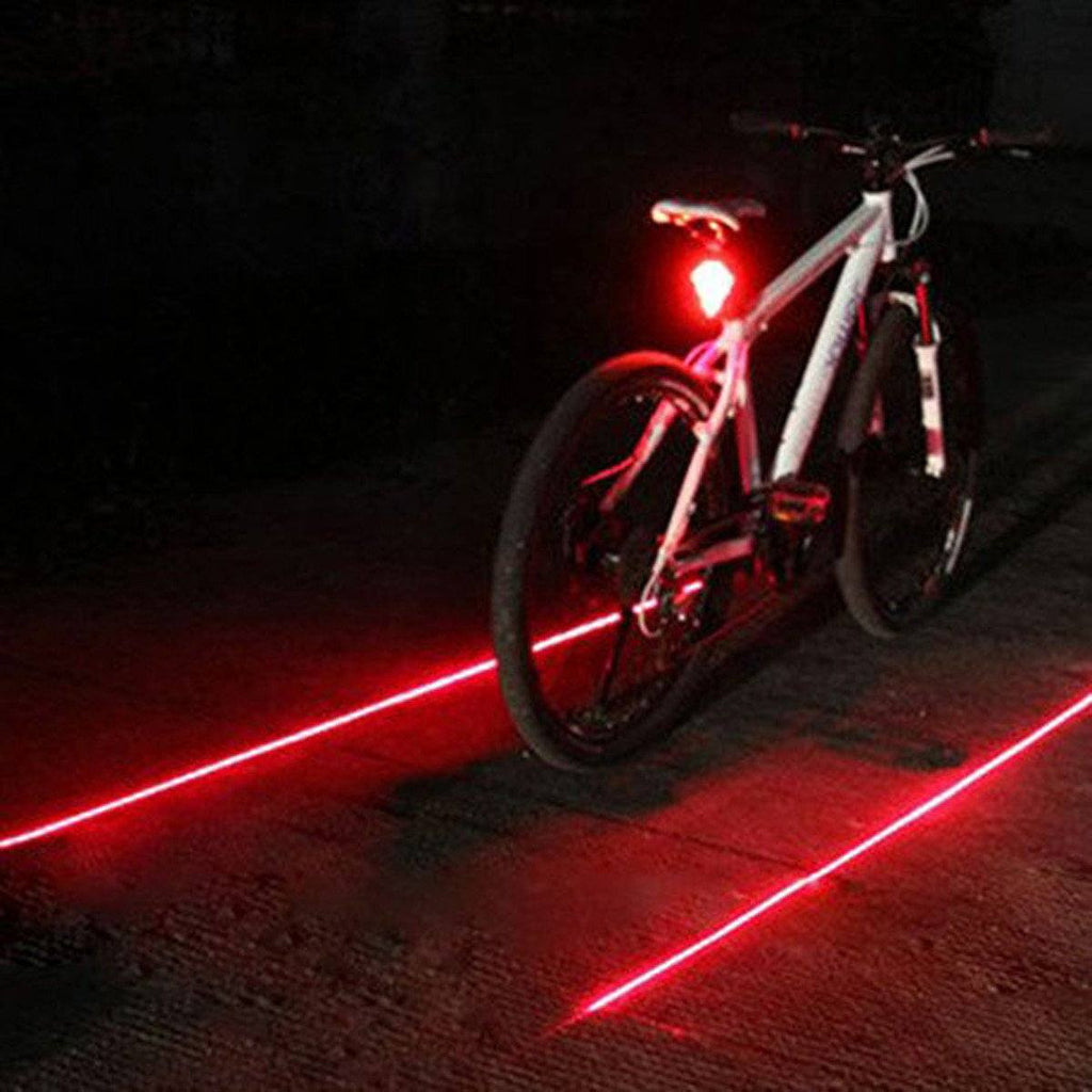 Bicycle LED Laser Tail Light - HIPSTERR