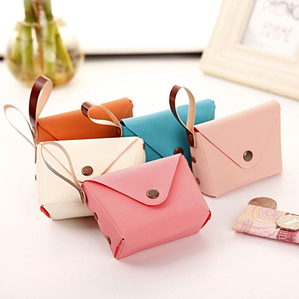 Korean Style Fashion PU Leather Coin Purse - HIPSTERR