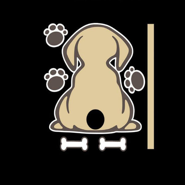 Funny Wagging Tail Sticker for Car Rear Wiper (Multi-design) - HIPSTERR