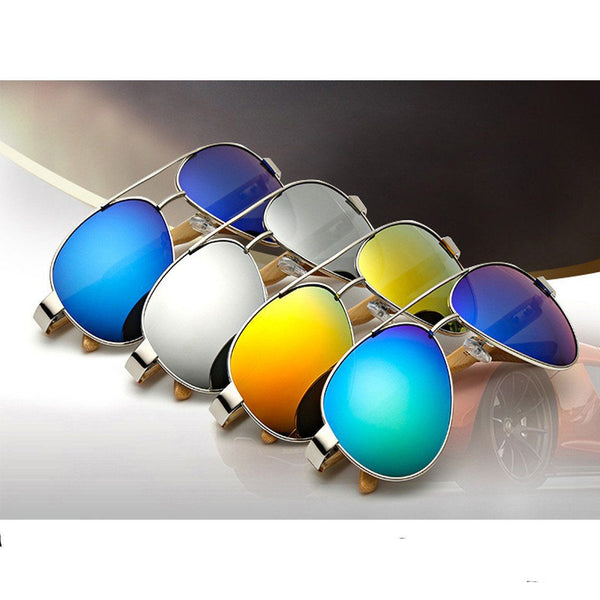 Vintage Bamboo Leg UV400 Sunglasses For Men/Women - HIPSTERR