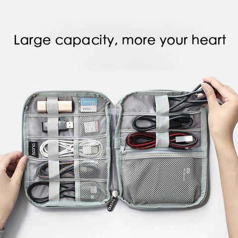 BOONA™ Double-Layer Waterproof Travel Gear Organizer & Accessories Storage Bag