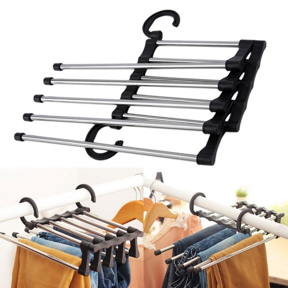 Space Saving 5-IN-1 Wonder Hanger