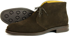 ascot suede lace up shoes
