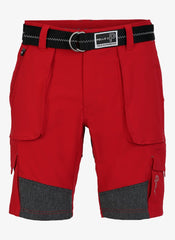 Pelle P 1200 mens sailing shorts race red