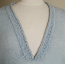 Holebrook Sweden Sabina V-Neck Mohair Jumper