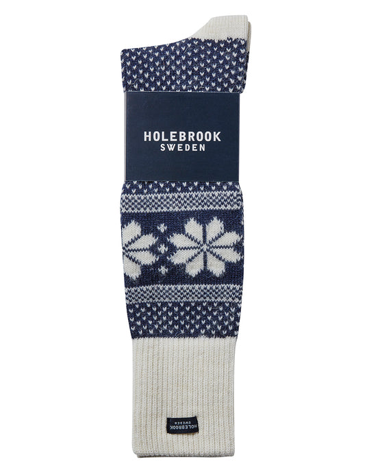 Holebrook Sweden Snowflake Winter Socks