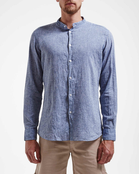 Holebrook Sweden Wille Collarless Shirt