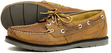 Orca Bay Cherokee Mens Nubuck Leather Deck Shoes Sand