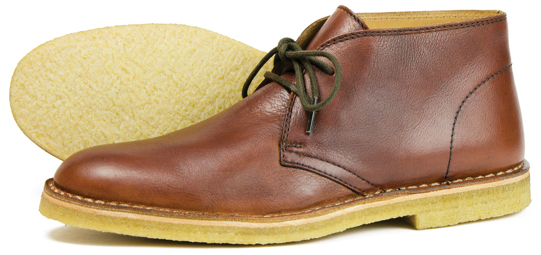 Orca Bay Gobi Mens Leather Desert Boots Pecan