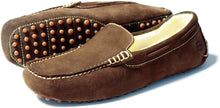 Orca Bay Mohawk Mens Suede Slippers Shoes Brown