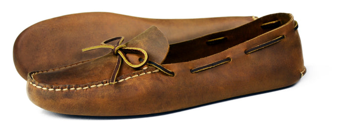 Orca Bay Navajo Mens Nubuck Leather Slippers Sand