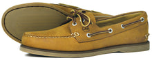 Orca Bay Newport Mens Nubuck Leather Deck Shoes Sand