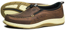 Orca Bay Orwell Mens Nubuck Leather Deck Shoes Russet