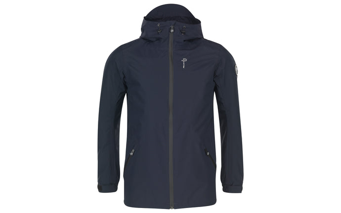 Pelle P ladies Challenge Shore Hood Waterproof Jacket Dark Navy