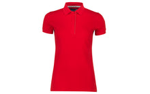 Pelle P Ladies Team Polo Shirt Race Red front