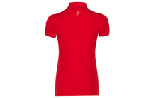 Pelle P Ladies Team Polo Shirt Race Red back
