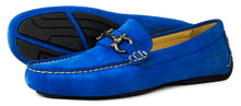Orca Bay Roma Mens Suede Loafer Shoes Royal Blue