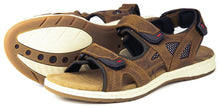 Orca Bay Seychelles Ladies Nubuck Leather Sandal Shoes Tan