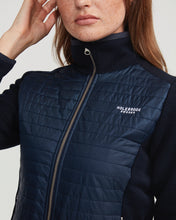 Holebrook Sweden Mimmi Ladies Windproof Cotton Jacket Navy logo