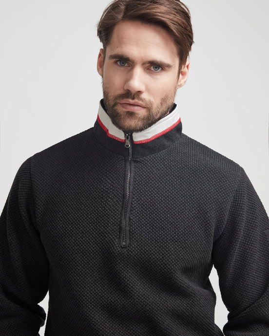 Holebrook Sweden Classic Windproof Jumper - Anthracite