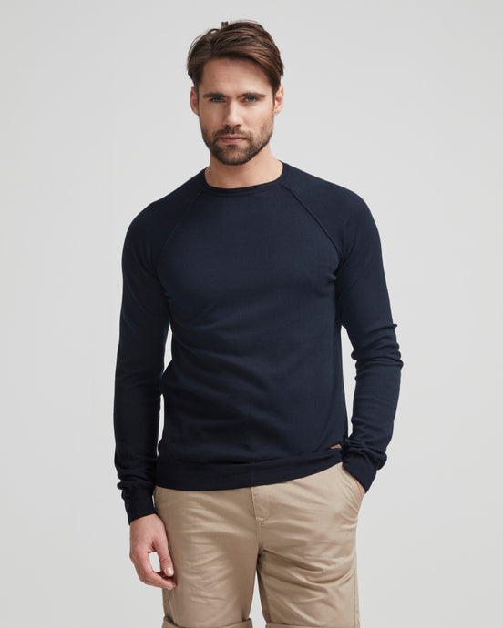 Holebrook Sweden Ethan Crew Neck Jumper