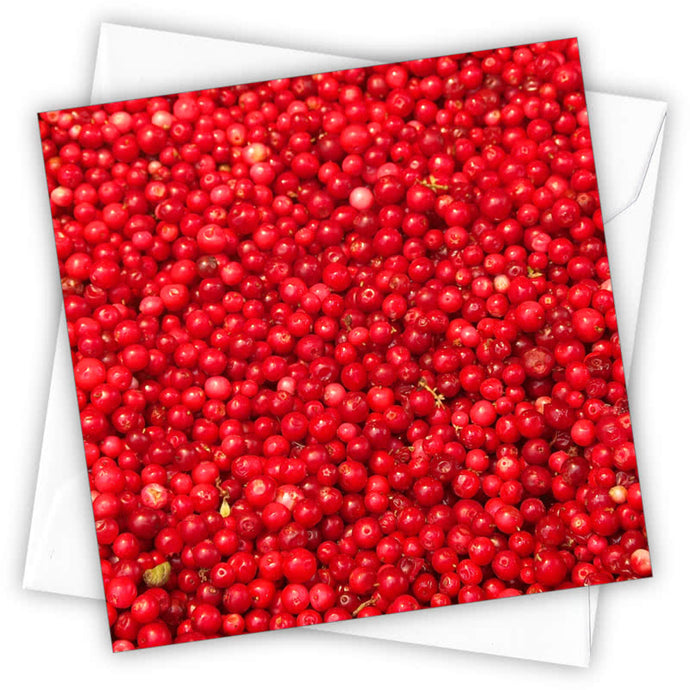 Cranberries Christmas Card