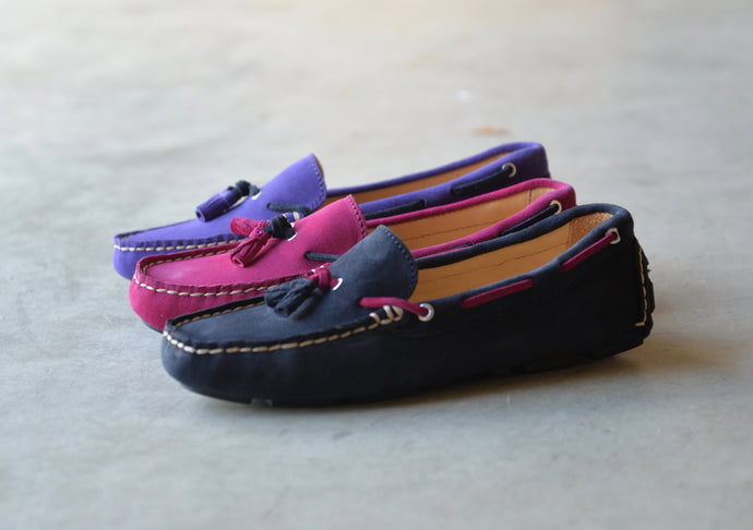 orca bay sicily ladies suede loafers