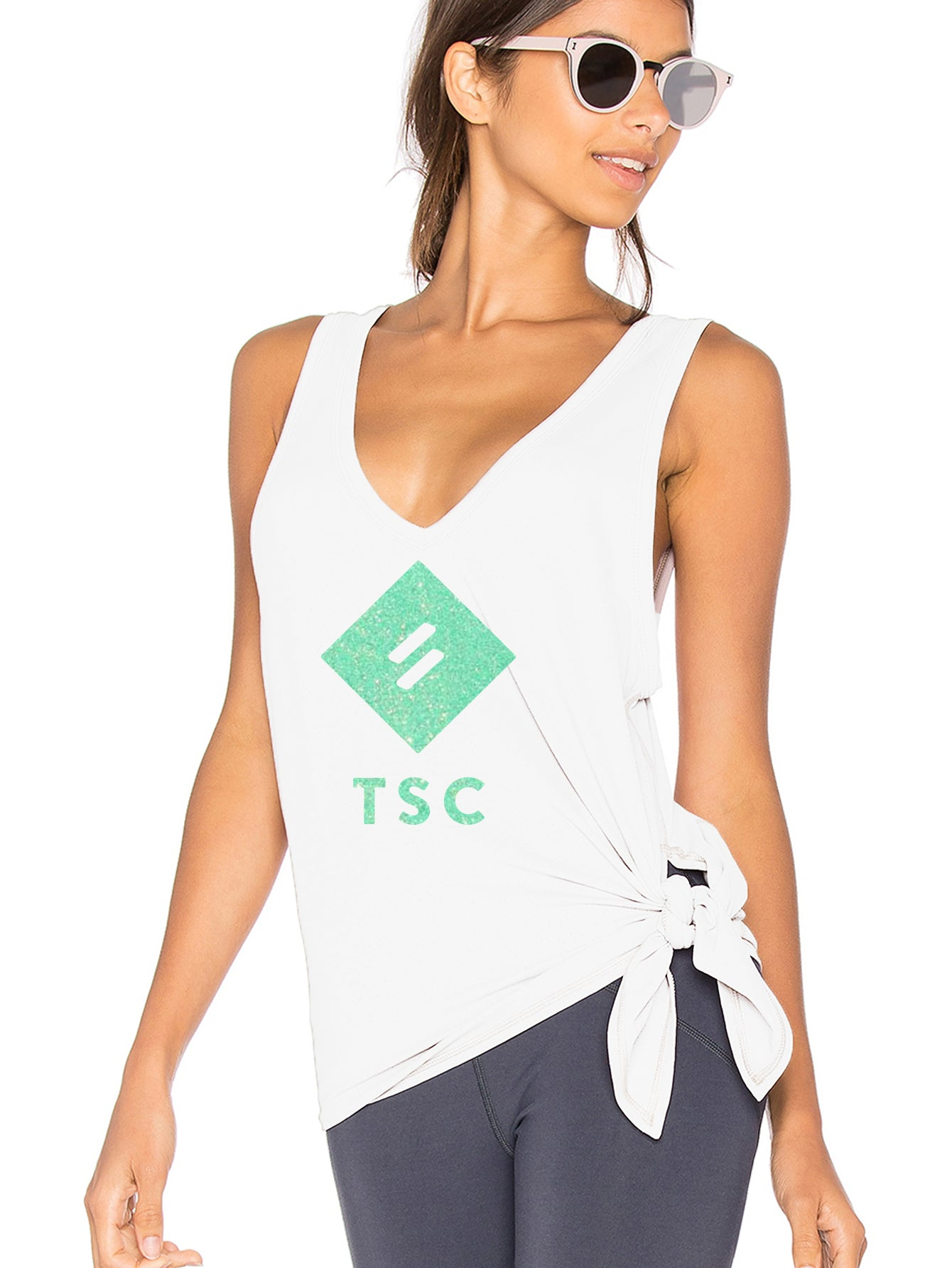 Ellipsis - TSC Side Tie Vest
