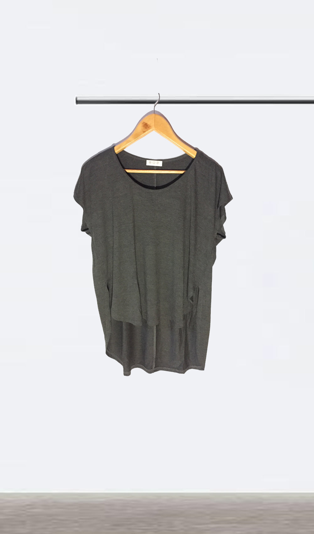 Ellipsis - The Charcoal Oversized Tee