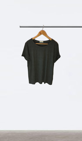 Ellipsis - The Charcoal Basic Tee