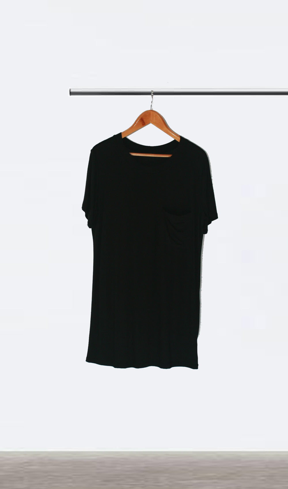 Ellipsis - The Black Tee Dress