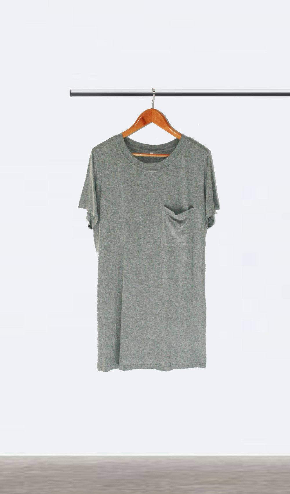 Ellipsis - The Grey Tee Dress