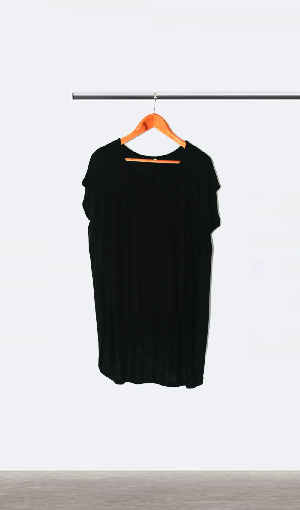Ellipsis - The Black Oversized Tee