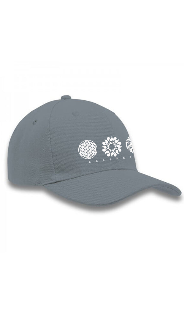 Ellipsis - Ellipsis Branded Grey Cap