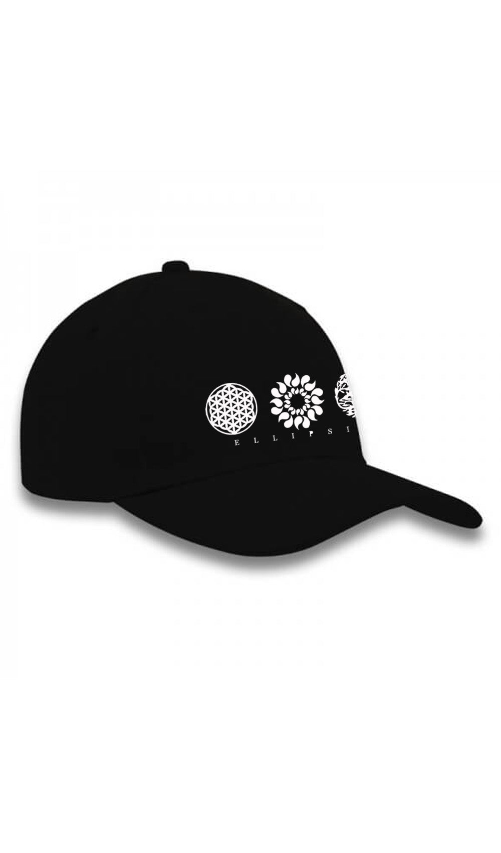 Ellipsis - Ellipsis Branded Black  Cap