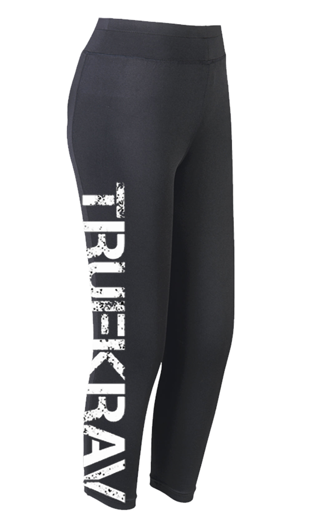 Ellipsis - Truekrav Black Leggings