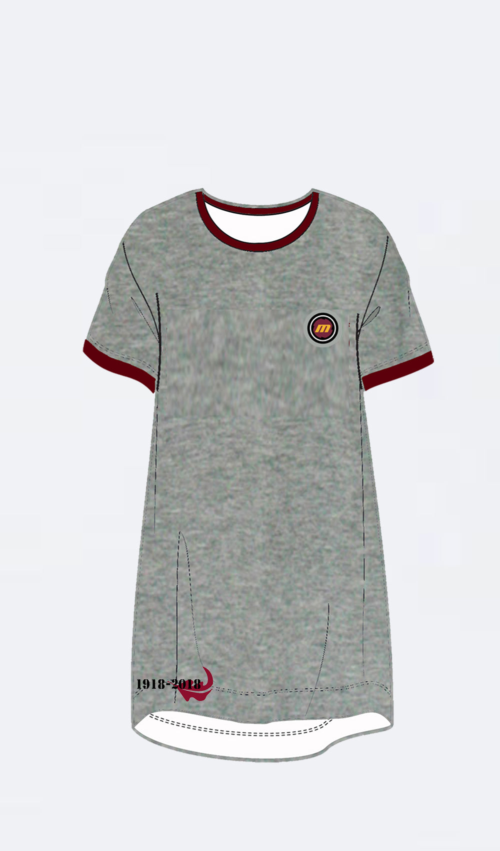 Ellipsis - Maties Ringer Tee Dress