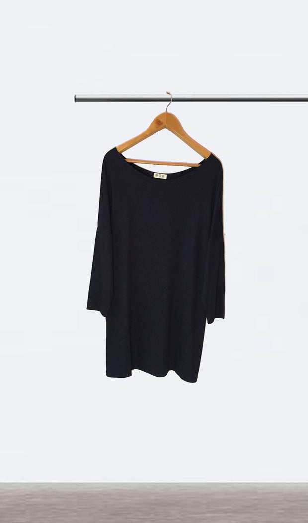 Ellipsis - The Navy Boatneck Dress