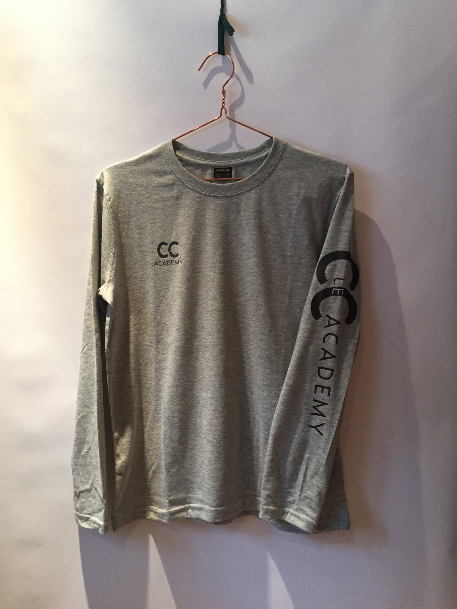 Ellipsis - CLeC Grey Long Sleeve Top