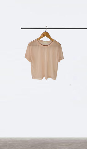 Ellipsis - The Pink Mesh Tee