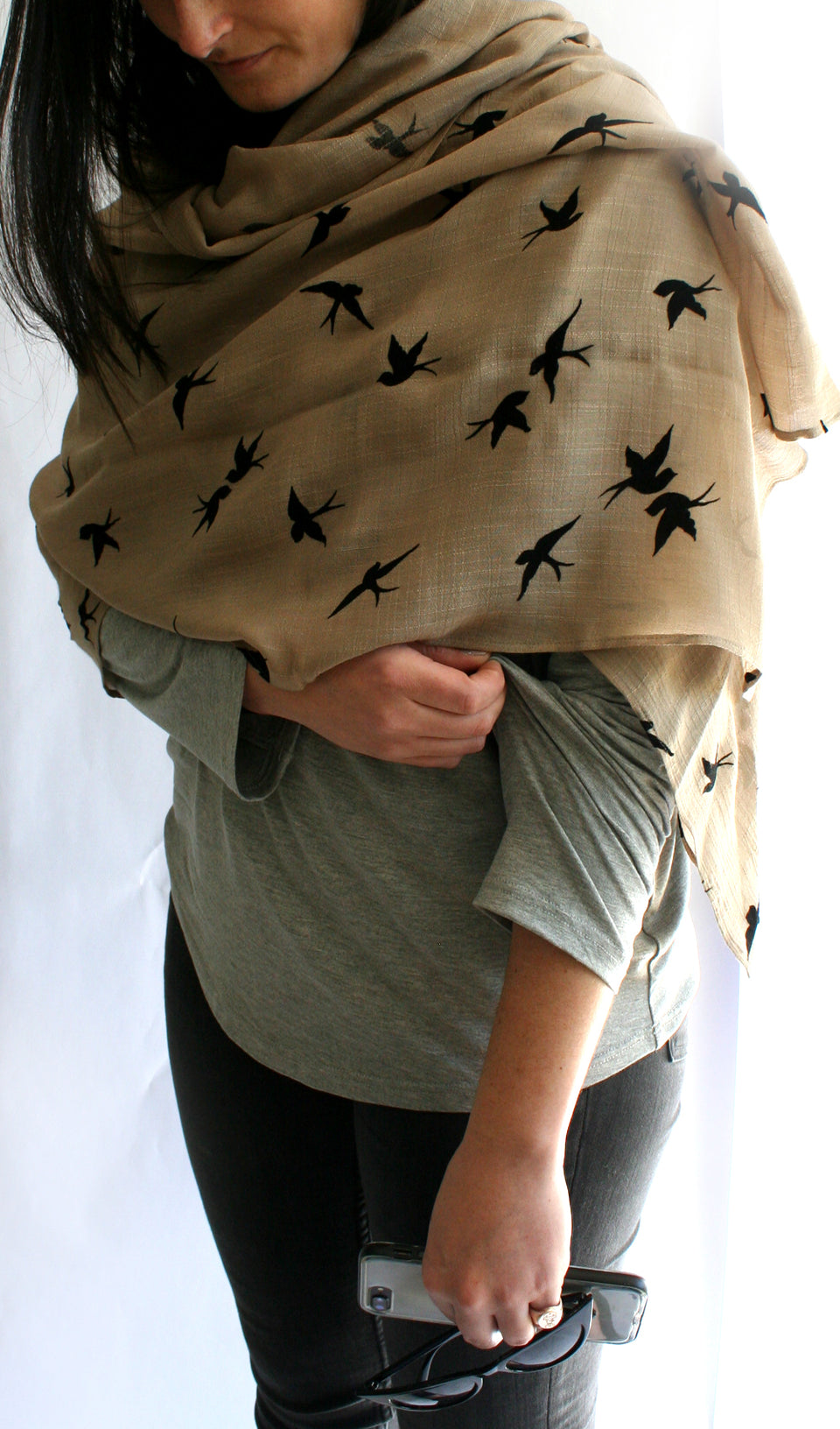 Ellipsis - The Stone Bird Scarf